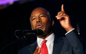ben carson presidential bid donald names caign rival ben carson as housing