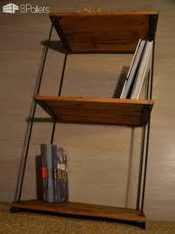 Pallet Wood Bookshelf Etagère Réglable En Bois De Palette Pallet Wood Shelves U2022 1001