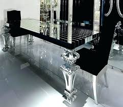silver dining room black dining room table beautiful dining table silver dining room