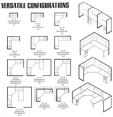 Typical Desk Depth by Versatile Configurations Studio3 Pinterest Cubicle And