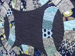 Wedding Ring Quilt by The Plaid Scottie Double Wedding Ring Quilt Along