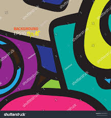 Color Scheme Modern Colorful Bright Popart Style Modern Vector Stock Vector 345074093