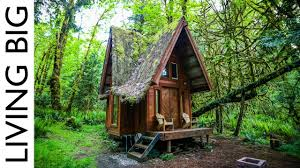 forest house enchanting cabin in the forest youtube