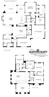 Floor Plans For One Story Homes 308 Best New Home Floor Plans In North County San Diego Images On