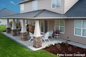 Simple Patio Cover Designs Covered Patios Free Home Decor Techhungry Us