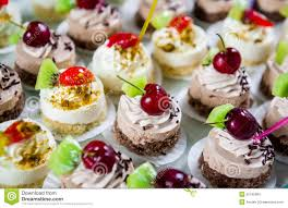 fancy cakes delicious small fancy cakes stock photo image 55755084