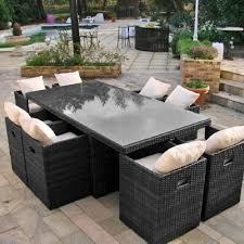 mobilier de jardin en solde gifi salon de jardin resine qaland