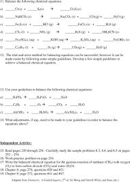 Stoichiometry Problems Worksheet Chemistry Problems Equations Tessshebaylo
