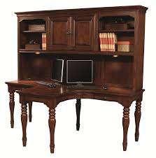 Cherry Desk With Hutch Aspenhome E2 Class Villager Dual T Desk And Hutch In Warm Cherry