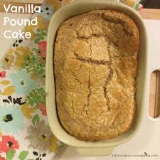 vanilla pound cake kylie mcgraw