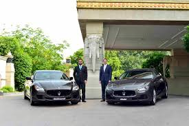 maserati green italian luxury car manufacturer maserati re enters india