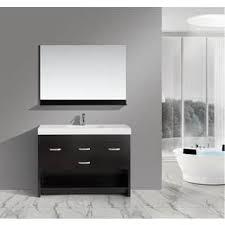 48 Inch Solid Wood Bathroom Vanity by Vigo 21 Inch Adonia Single Bathroom Vanity With Mirror Free