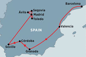 Cordoba Spain Map by Essence Of Spain Spain Tours Peregrine Adventures Us