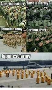 Russian Army Meme - american army russianarmy canadian army germanarmy japanese army