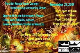 29th annual carlson thanksgiving community dinner at the