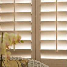 Wooden Blinds For Windows - choosing louver size