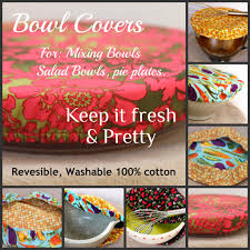 fun and practical bowl covers etsy pinterest bowls sewing