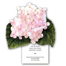 invitations for bridesmaids hydrangea bridesmaids luncheon invitations paperstyle