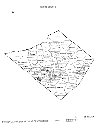 Map Pennsylvania Counties by Pa State Archives Pennsylvania County Municipalities Map