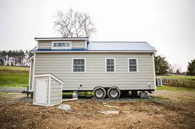 modern farmhouse from liberation tiny homes tiny house town