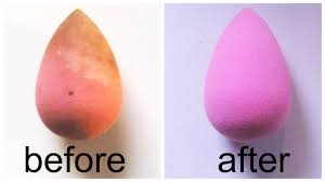 how to deep clean your beauty blender tigana youtube