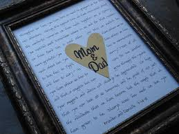 28 best images of ideas for wedding gifts for parents parents