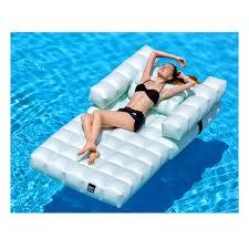 fauteuil gonflable piscine jardin pigro felice zendart design