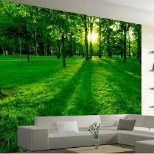 3d home decor design beautiful morning view 3d wallpaper 3d wallpaper for room walls in