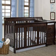 White Convertible Crib Sets by Best Convertible Crib With Changing Table Designs Convertible Crib