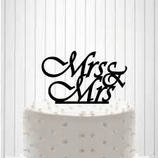 mrs and mrs cake topper mrs mrs cake topper custom wedding cake topper same