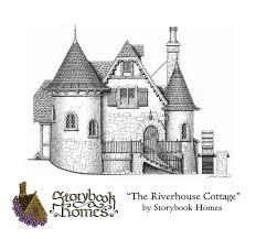 tiny english cottage house plans baby nursery storybook cottage house plans the riverhouse by