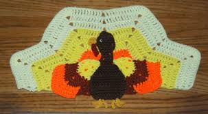 turkey placemats crochet patterns crochet placemat patterns crochet kitchen
