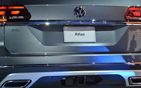 volkswagen atlas exterior the 2018 atlas is volkswagen u0027s new suv 8 22