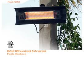 Infrared Patio Heaters Amazing Infrared Patio Heaters With Electric Patio Heaters