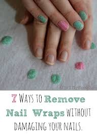 how to remove jamberry nail wraps and avoid damage 7 tips nailart