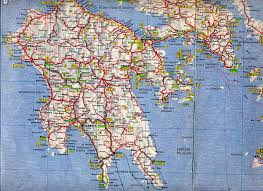Map Greece by Maps