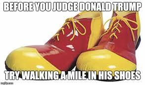 Shoes Meme - clown shoes imgflip
