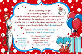 dr seuss baby shower invitations dr seuss baby shower invitations cimvitation
