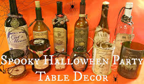spooky halloween party table decor redo it yourself inspirations