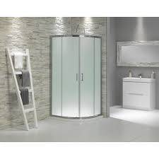 Frosted Glass Bathroom Cabinet by Glass Showers Buy Frosted Glass Quadrant Shower Enclosure 900 In