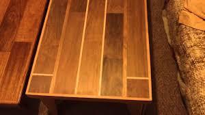 Red Oak Table by Brazilian Walnut Brazilian Cherry U0026 Red Oak Table Part 1 Youtube