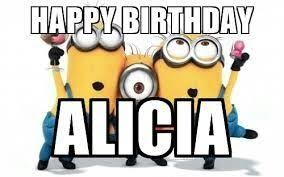 Minion Meme Generator - happy birthday alicia minions minions meme generator cyber