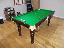 6 ft billiard table titan 6ft snooker table not so good cushion fixings on this type