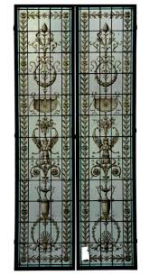 Antique Stained Glass Door by Stained Glass See All