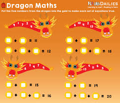 daily10 chinese new year dragon maths game for children aged 8 12