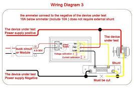 100 pcs lot yb27 va volt amp meter digital voltmeter ammeter led