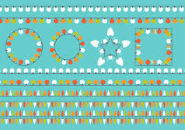 simple flat colorful christmas light vectors download free