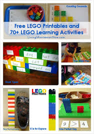 free lego printables and 70 lego learning activities