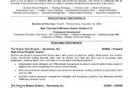 Sample Resume English Teacher by Sample Cv For Teaching English