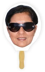 fan faces on a stick face fans customprintedfans com